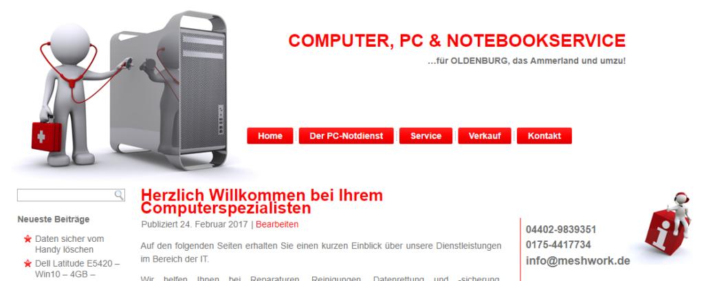 PC Notdienst Oldenburg und Ammerland